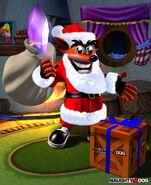 Santa Crash