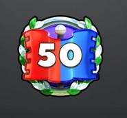 50 wins CTF