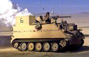Olive-Drab M113 APC
