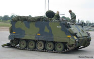 Olive-Drab M113 APC-0