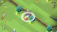 Bomb Bot Landmine AOE