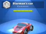 Starman's car