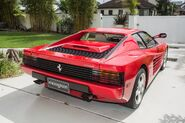 Ferrari testarossa rear