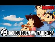 Nihongo Manabu Lewat Lagu- Doubutsuen wa Taihen da -belajarbahasajepang -animesong -shinchan
