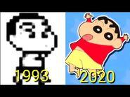 Evolution of Shinchan Games 1993~2020