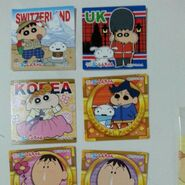 Sell trade crayon shinchan chocobi stickers 1467800458 4e0b0362