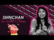 Shinchan in Dance Class - Akanksha Sharma ll Shinchan Title Track