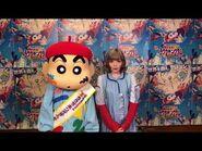 Kyary Pamyu Pamyu as Voice Actress in 28th Crayon Shin-chan Movie