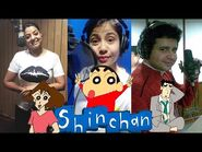 (India) LIVE DUBBING of All SHINCHAN Characters