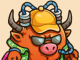 Beach Bull