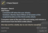 Chaos Sword