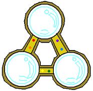 Medalla burbuja