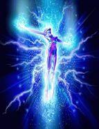 Cosmic Person Rising