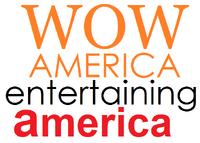 WOW America Entertaining America Logo