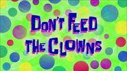 SpongeBob Music- Calling All Clowns