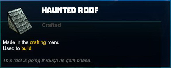 Haunted Roof