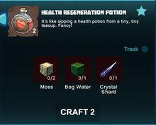 Creativerse R41 crafting recipes health regeneration potion01.jpg