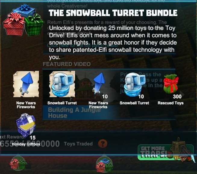 Snowball Turret Bundle