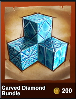 Carved Diamond Bundle