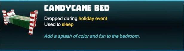 Candycane Bed