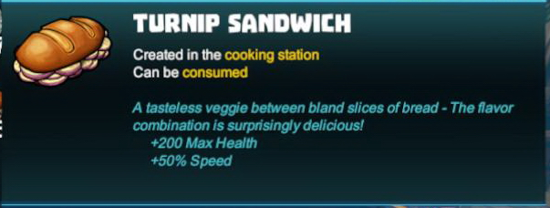 Turnip Sandwich