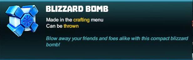 Blizzard Bomb