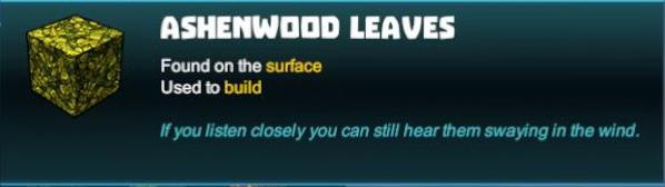 Ashenwood Leaves