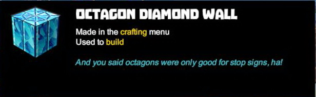 Octagon Diamond Wall