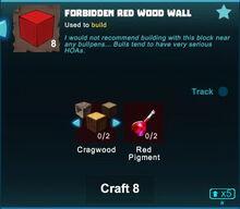 Creativerse Forbidden Red Wood Wall crafting 2019-02-20 10-28-19-34.jpg