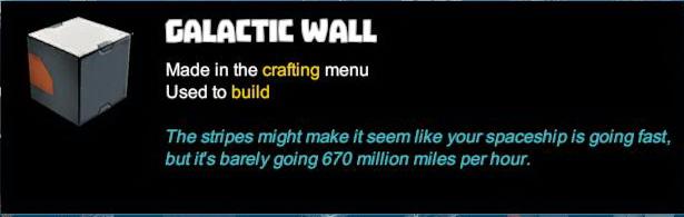 Galactic Wall