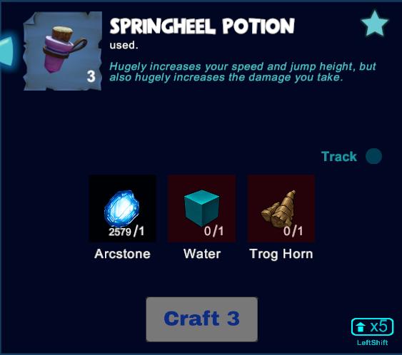 Springheel Potion
