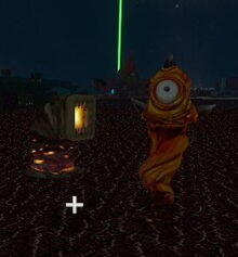 Creativerse Hotfoot and Warmworm spawned on Igneous Rock.jpg