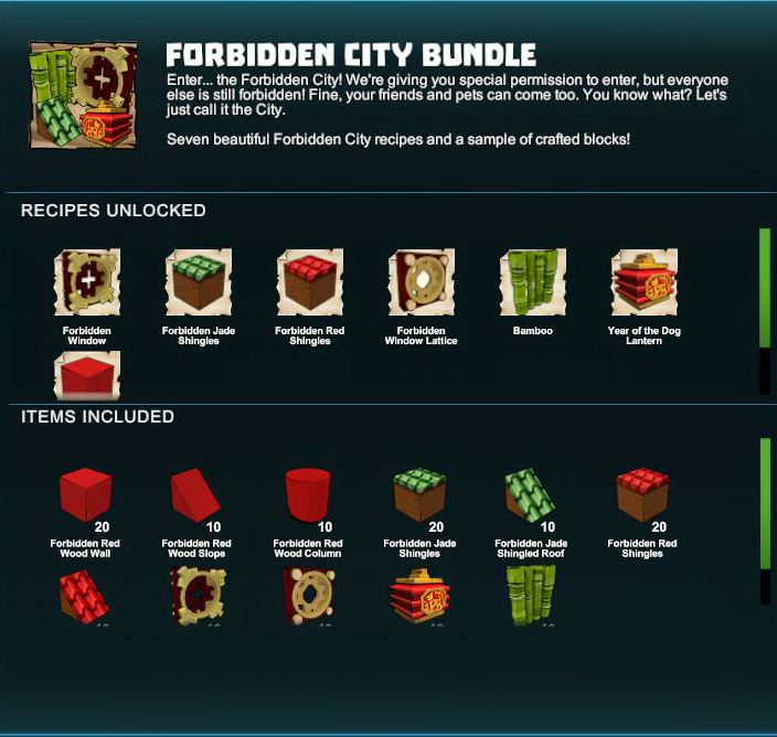 Forbidden City Bundle