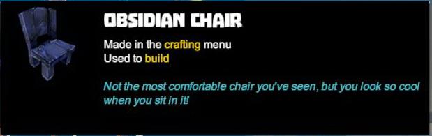 Obsidian Chair