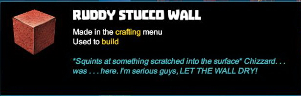 Ruddy Stucco Wall