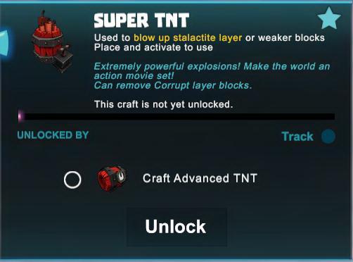Creativerse R41 Super TNT detonated 5 blocks pinkarmy.net