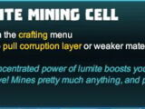 Lumite Mining Cell