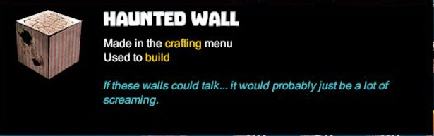 Haunted Wall