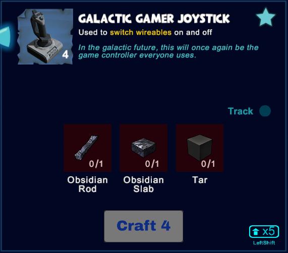 Galactic Gamer Joystick