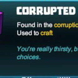 Corrupted Water