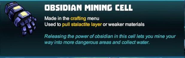 Obsidian Mining Cell