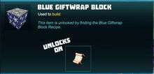 Creativerse Blue Giftwrap Block unlock recipe 2018-12-20 20-55-15-00.jpg