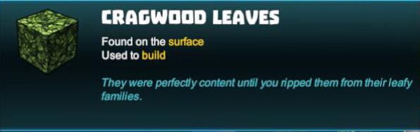 Cragwood Leaves