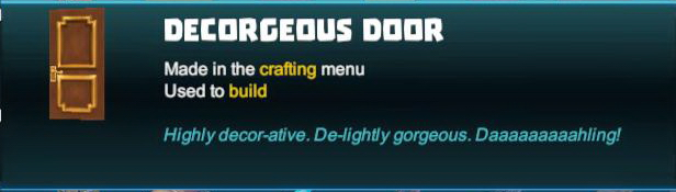 Decorgeous Door
