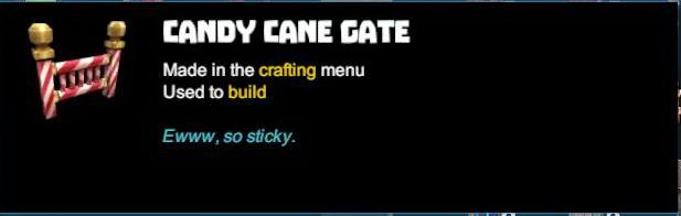 Candy Cane Gate