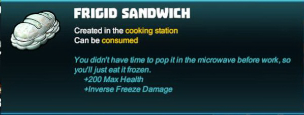 Frigid Sandwich