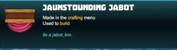 Jaunstounding Jabot