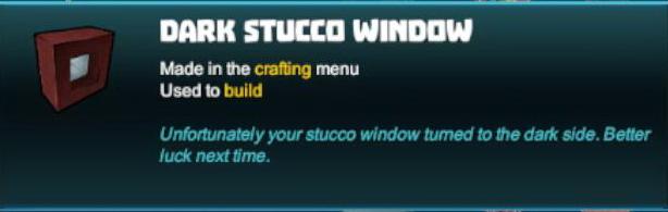Dark Stucco Window