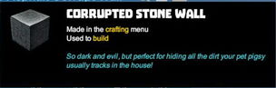 Creativerse tooltips R40 074 bungalow asphalt corrupt blocks crafted.jpg