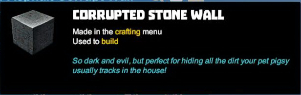 Corrupted Stone Wall